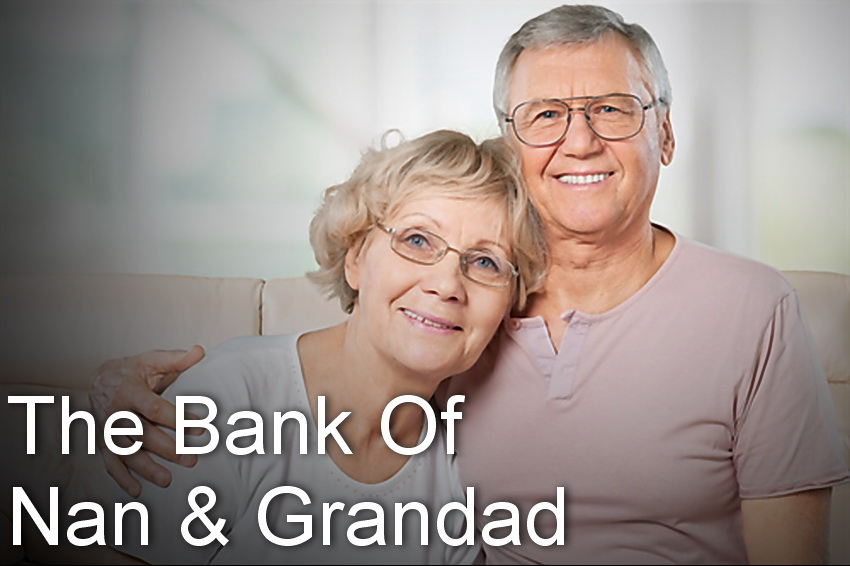 Bank Of Nan and Grandad