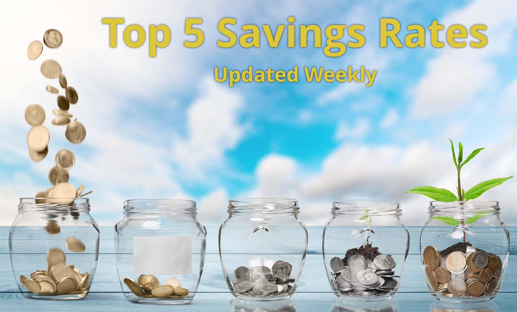 Top 5 UK Savings Rates